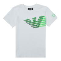Vêtements Garçon T-shirts manches courtes Emporio Armani EA7 THAMIA