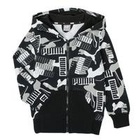 Vêtements Garçon Sweats Puma ALPHA AOP FZ