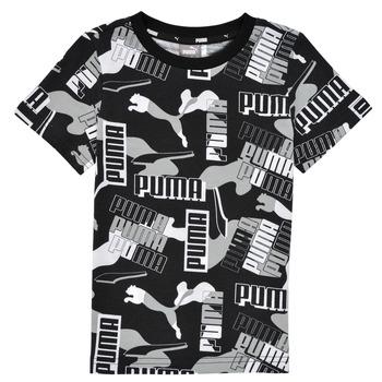 Vêtements Garçon T-shirts manches courtes Puma ALPHA AOP TEE