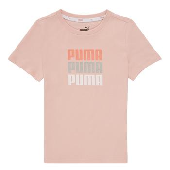 Vêtements Fille T-shirts manches courtes Puma ALPHA TEE