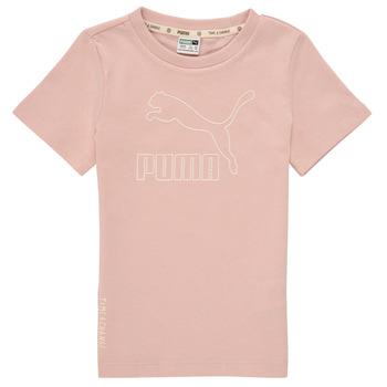 Vêtements Fille T-shirts manches courtes Puma T4C TEE