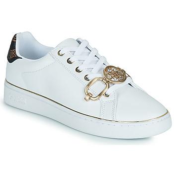 Schuhe Damen Sneaker Low Guess BABE Weiß