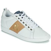Schuhe Herren Sneaker Low Le Coq Sportif COURTCLASSIC Weiß