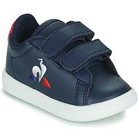 Schuhe Kinder Sneaker Low Le Coq Sportif COURTSET INF Blau