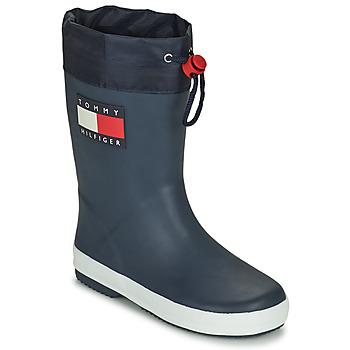 Scarpe Unisex bambino Stivali da pioggia Tommy Hilfiger T3X6-30766-0047800