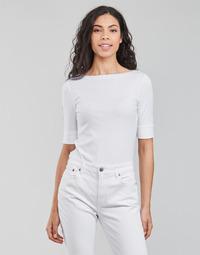 Abbigliamento Donna T-shirts a maniche lunghe Lauren Ralph Lauren JUDY-ELBOW SLEEVE-KNIT