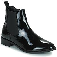 Chaussures Femme Boots JB Martin ATTENTIVE VVN NOIR DCV / ELASTOMERE