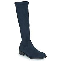 Chaussures Femme Bottes ville JB Martin AMOUR TTX MARINE DCV / ELASTOMERE