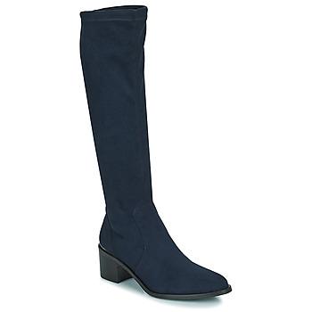Chaussures Femme Bottes ville JB Martin JOLIE TTX MARINE DCV / GOMME