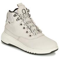 Schuhe Damen Boots Geox AERANTIS Grau