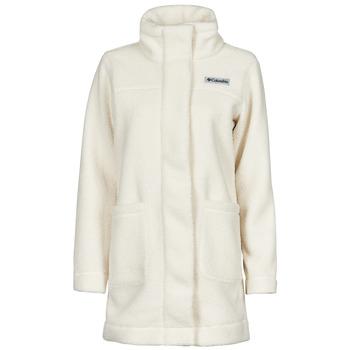 Kleidung Damen Mäntel Columbia PANORAMA LONG JACKET Weiß