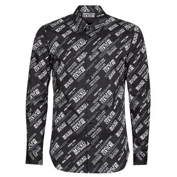 Vêtements Homme Chemises manches longues Versace Jeans Couture SLIM PRINT WARRANTY