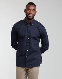 Vêtements Homme Chemises manches longues U.S Polo Assn. DIRK 51371 EH03