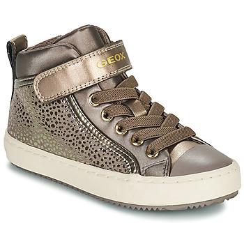 Schuhe Mädchen Sneaker High Geox KALISPERA Golden