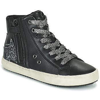Schuhe Mädchen Sneaker High Geox KALISPERA Silber
