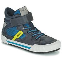 Chaussures Garçon Baskets montantes Geox ALONISSO