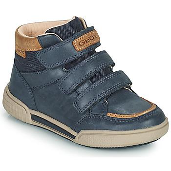 Scarpe Bambino Sneakers alte Geox POSEIDO