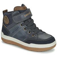 Chaussures Garçon Boots Geox CHARZ ABX