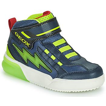 Scarpe Bambino Sneakers alte Geox GRAYJAY