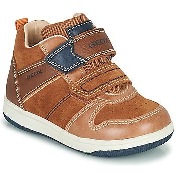 Chaussures Garçon Baskets montantes Geox NEW FLICK