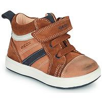 Chaussures Garçon Baskets montantes Geox BIGLIA