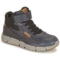 Chaussures Garçon Boots Geox FLEXYPER