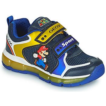 Chaussures Garçon Baskets basses Geox ANDROID