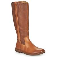 Schuhe Damen Klassische Stiefel Kickers TINTTA Kamel