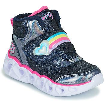 Scarpe Bambina Sneakers alte Skechers HEART LIGHTS