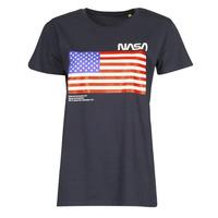 Kleidung T-Shirts Yurban ONASA Marineblau