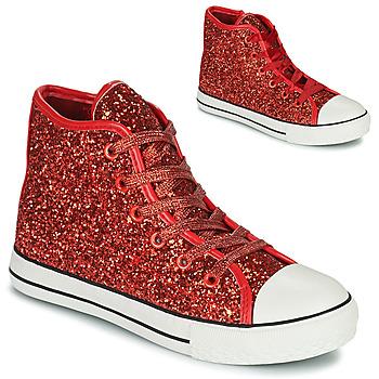 Schuhe Mädchen Sneaker High Citrouille et Compagnie OUTIL Rot