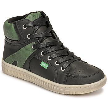 Chaussures Garçon Baskets montantes Kickers LOWELL