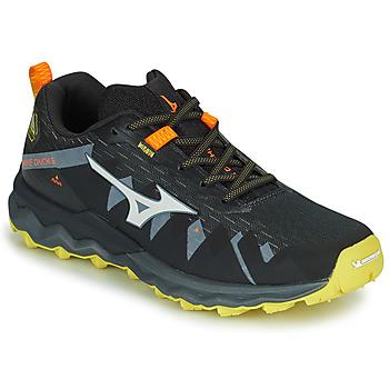 Schuhe Herren Laufschuhe Mizuno WAVE DAICHI 4 Orange