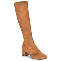 Schuhe Damen Klassische Stiefel Unisa LARTI Kamel