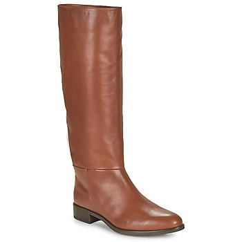 Schuhe Damen Klassische Stiefel Unisa BLEND Kamel