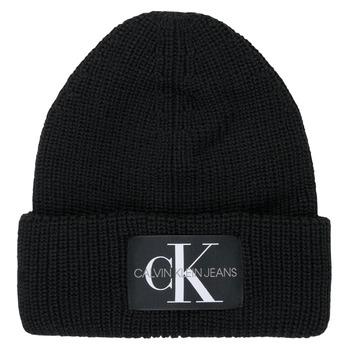 Accessoires textile Femme Bonnets Calvin Klein Jeans MONOGRAM BEANIE WL