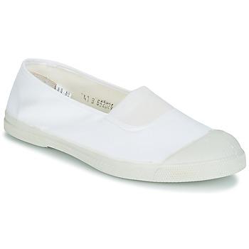 Schuhe Damen Sneaker Low Bensimon TENNIS ELASTIQUE Weiß