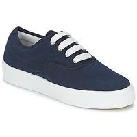 Schuhe Damen Sneaker Low Yurban PLUO Marineblau