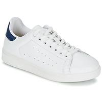 Schuhe Herren Sneaker Low Yurban SATURNA Weiss / Marine