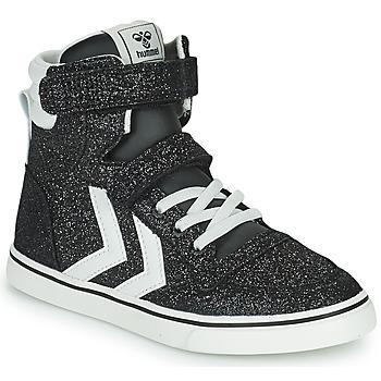 Chaussures Enfant Baskets montantes Hummel SLIMMER STADIL GLITTER JR