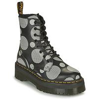 Schuhe Damen Boots Dr Martens JADON Weiß / Grau
