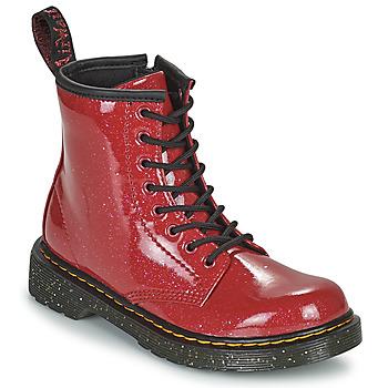 Schuhe Mädchen Boots Dr Martens 1460 J Rot