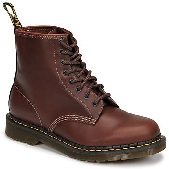 Schuhe Herren Boots Dr Martens 1460 Braun,