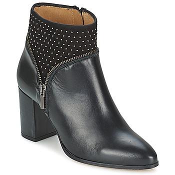 Schuhe Damen Low Boots Fericelli ANTILLO Schwarz