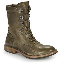 Schuhe Damen Boots Moma MINSK Khaki