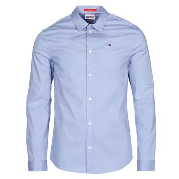 Vêtements Homme Chemises manches longues Tommy Jeans TJM ORIGINAL STRETCH SHIRT