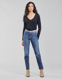 Abbigliamento Donna Jeans dritti Tommy Hilfiger NEW CLASSIC STRAIGHT HW A LEA