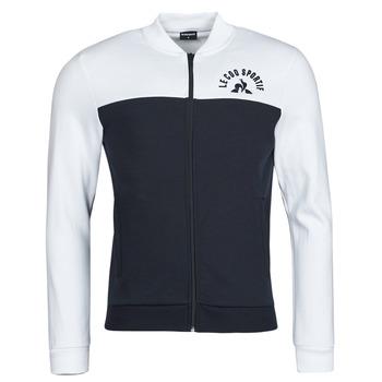 Kleidung Herren Trainingsjacken Le Coq Sportif SAISON 2 FZ SWEAT N 1 Marineblau / Weiß