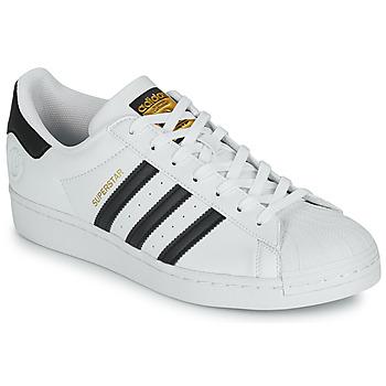 Schuhe Sneaker Low adidas Originals SUPERSTAR VEGAN Weiß