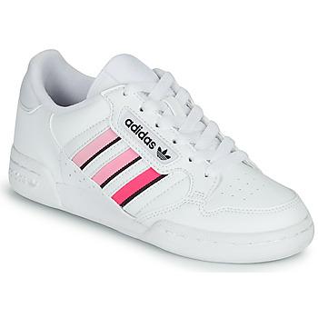 Chaussures Fille Baskets basses adidas Originals CONTINENTAL 80 STRI J